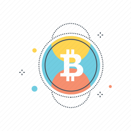 bitcoin, blockchain, cash, cryptocurrency, currency, money, virtual icon