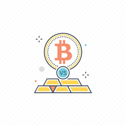 bitcoin, conversion, exchange, gold, invest, investment, transfer icon