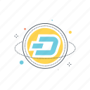 altcoin, altcoins, blockchain, coin, crypto, cryptocurrency, dash icon