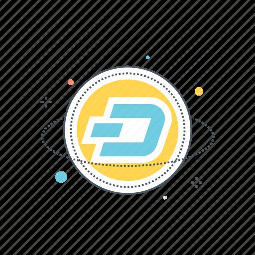 altcoin, altcoins, blockchain, coin, crypto, cryptocurrency, dash icon