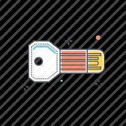 digital, key icon