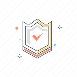 encrypted, privacy, protection, safety, secured, security, shield icon