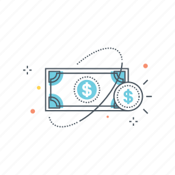currency, dollar, fiat, government, legal, money, payment icon