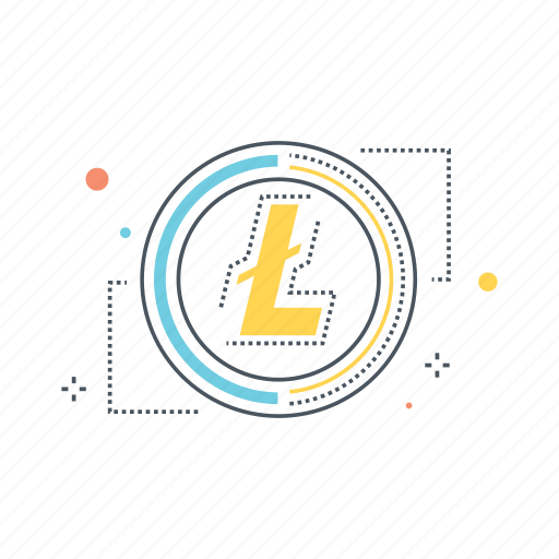 crypto, cryptocurrency, currency, litecoin, mining, p2p, peer to peer icon
