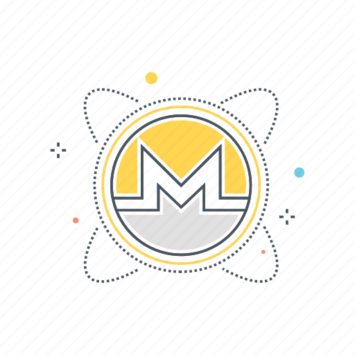 coin, crypto, cryptocurrency, currency, mining, monero, money icon