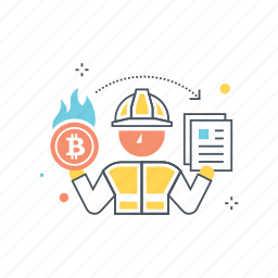 address, bitcoin, burn, proof, proof of burn, resources, unspendable icon