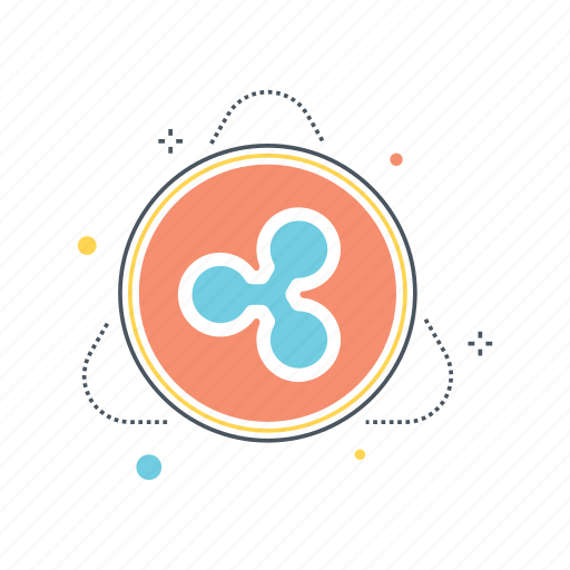 currency, exchange, network, protocol, remittance, ripple, system, transaction icon