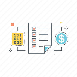 blockchain, buyer, code, contract, network, seller, smart icon