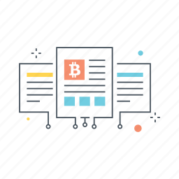 cryptocurrency, currency, description, document, paper, project, white icon