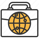 business, communication, connection, finance, internet, network icon
