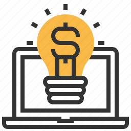 business, creative, currency, design, dollar, finance, work icon