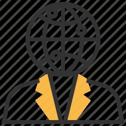 communication, global, globe, international, outsource icon