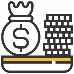 business, cash, currency, dollar, finance, growth, money icon