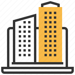 building, business, finance, house, office icon