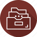 accounts, business, modern, storage icon
