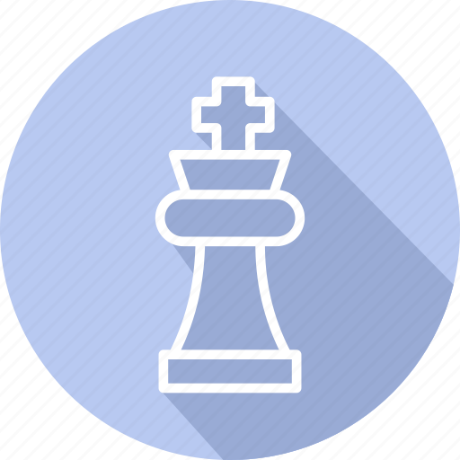 business, chess, modern, strategy icon