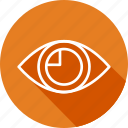 business, eye, looking, modern icon