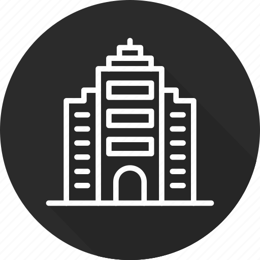 building, business, modern, office icon