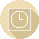 business, clock, modern, office icon