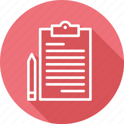business, clipboard, modern, planning icon