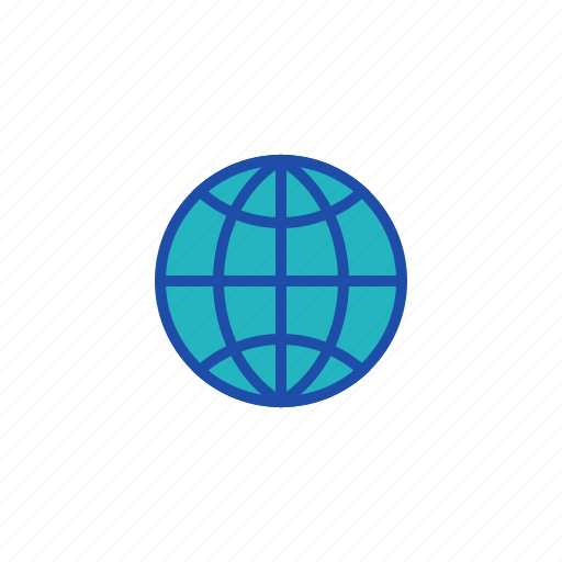 business, earth, finance, globe, world icon