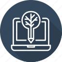 business, live, modern, streaming icon