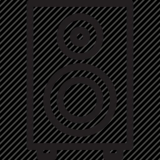 audio, business, fi, hi, modern, speaker icon
