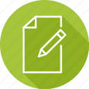 blank, business, modern, paper, write icon