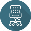 business, chair, modern, office icon