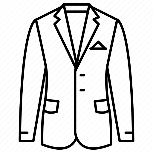 business, clothing, dress code, fashion, meeting, menswear, suit icon