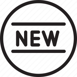 brand, business, label, modern, new icon