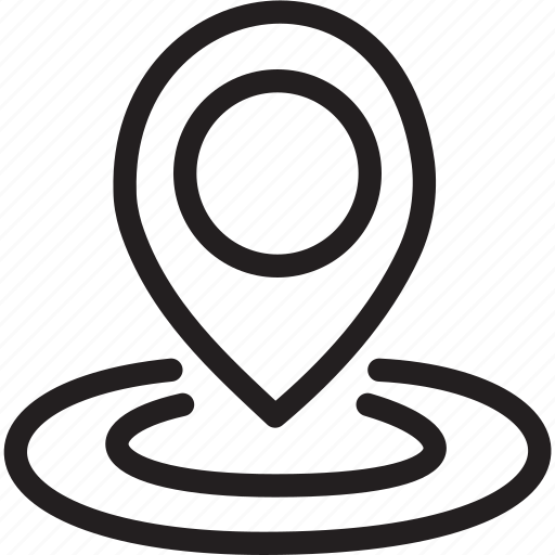 business, location, mark, modern icon