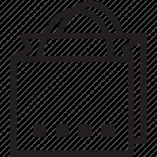 bag, business, modern, shopping icon
