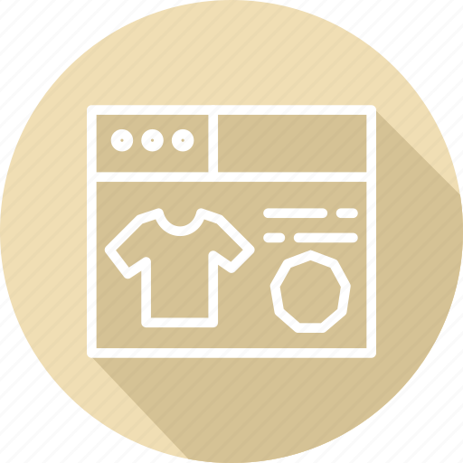 business, grocery, modern, products icon