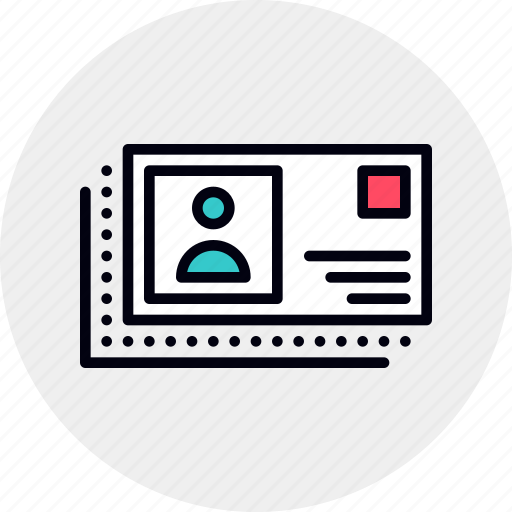 business, card, contact, contacts, id icon
