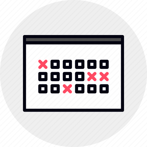 appointment, calendar, events, month, schedule icon