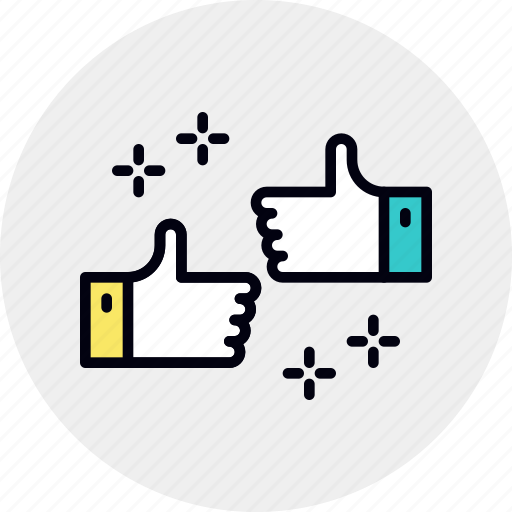 clients, excellent, gesture, great, happy, job, thumbs, up icon