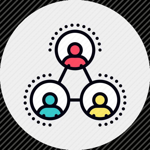 community, network, social icon