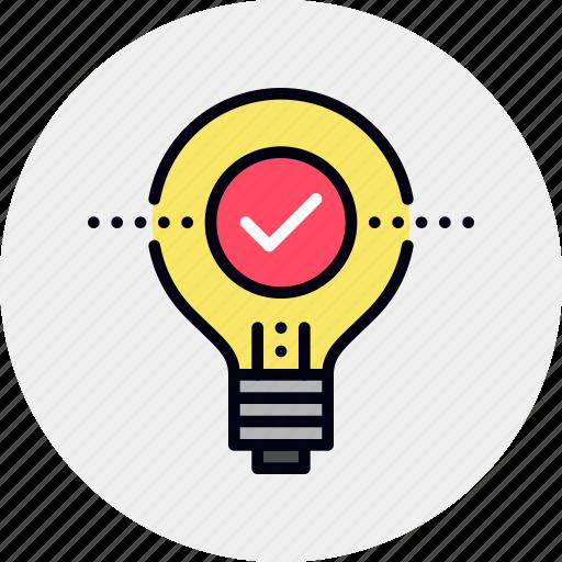 creative, solution, success icon