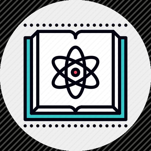 book, science icon