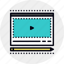 course, education, tutorial, video icon