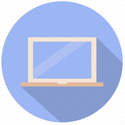 computer, laptop, mac, macbook, pc, personal computer, responsive icon