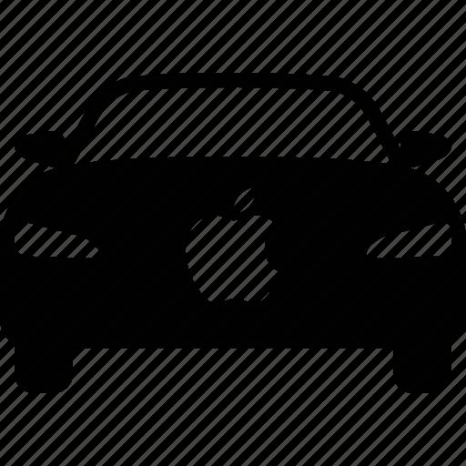 apple, auto, automobile, autonomous, car, electric, vehicle icon