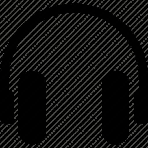 audio, equipment, headphones, multimedia, music, sound, stereo icon