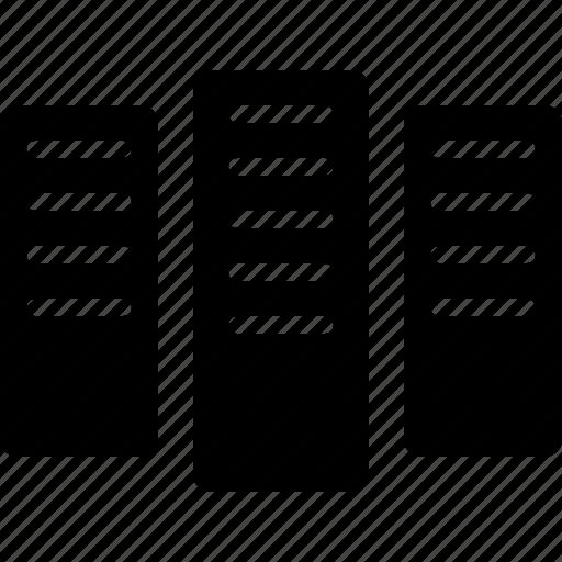 center, computer, computing, data, database, server, storage, super icon