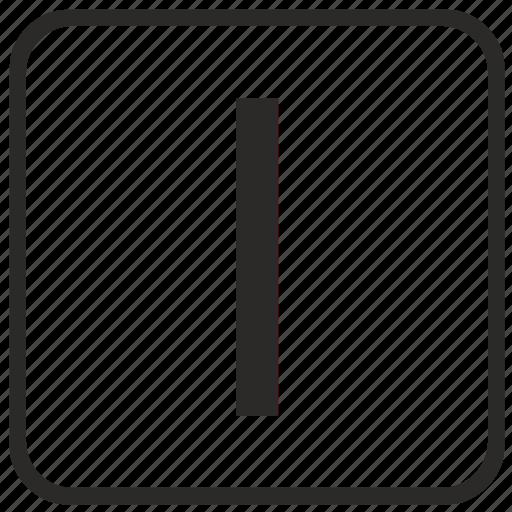 alphabet, english, i, keyboard, letter, uppercase, vurtual icon