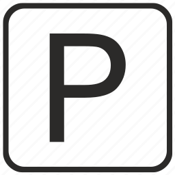 alphabet, english, keyboard, letter, p, uppercase, vurtual icon