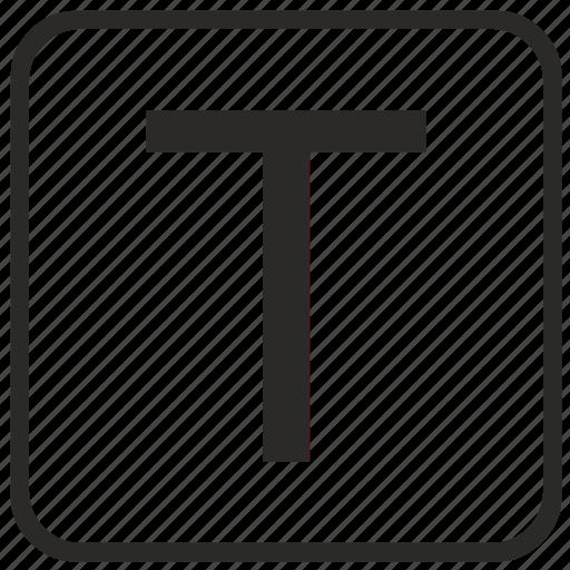 alphabet, english, keyboard, letter, t, uppercase, vurtual icon