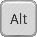 alt, function, key, keyboard icon
