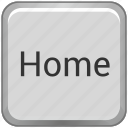 function, home, key, keyboard icon